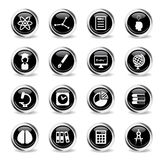 University simply icons Royalty Free Stock Images
