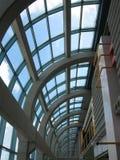 University Skylight. The skylight lighting the hallway of a university building Royalty Free Stock Images