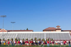 University of Southern California Musicians Royalty Free Stock Photos