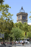 University Square in Barcelona royalty free stock photography