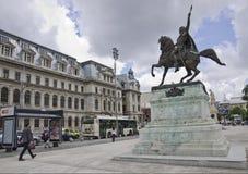 University Square, Bucharest, Romania Stock Images