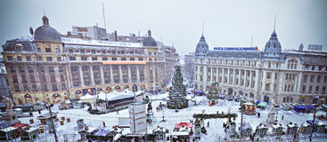 University Square panorama Royalty Free Stock Images