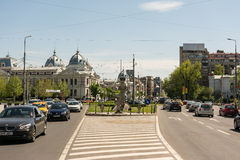 University Square (Piata Universitatii) Royalty Free Stock Images