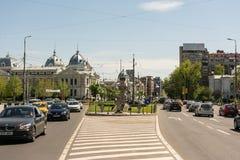 University Square (Piata Universitatii) Royalty Free Stock Images