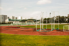 University Stadium, Lisbon, Portugal: view from south Stock Images