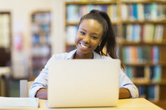 University student laptop Royalty Free Stock Photography