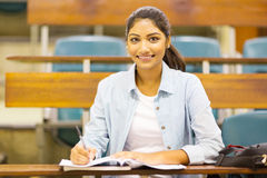 University student lecture hall Royalty Free Stock Image