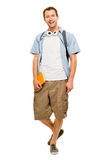University student man back to school Stock Photography