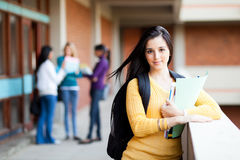 University student portrait Royalty Free Stock Image