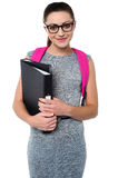 University student ready to attend college Royalty Free Stock Image