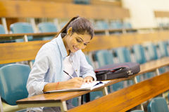 University student studying Stock Images