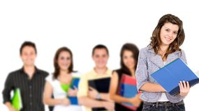 University students Royalty Free Stock Image