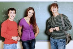 University students Stock Images