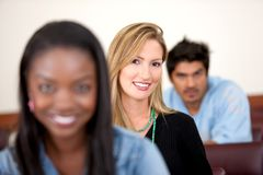 University students Royalty Free Stock Photo