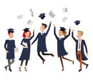University students graduation Royalty Free Stock Photography