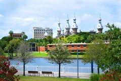 University of Tampa stock image