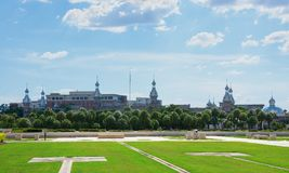 University of Tampa in Florida on a bright sunny afternoon Royalty Free Stock Image