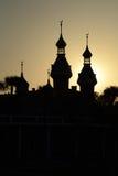 University of Tampa Silhouette Stock Photo