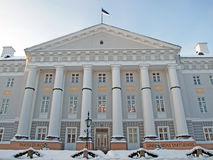 University in Tartu Royalty Free Stock Photo
