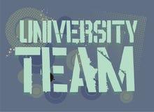 University team Royalty Free Stock Photography
