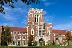 University of Tennessee. Administration building at the University of Tennessee in Knoxville, Tennessee Royalty Free Stock Photo