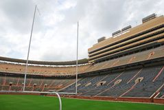 University of Tennessee Football Field Royalty Free Stock Photography