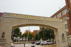 University of Tennessee Health science center entrance Royalty Free Stock Photo