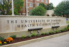 University of Tennessee Health science center Royalty Free Stock Photos