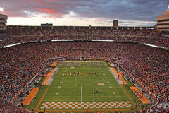 The University of Tennessee Pride of the Southland Marching Band Stock Image