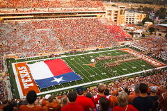 University of Texas pre-game. Pre-game fesitivities at the University of Texas Darrel Royal stadium Royalty Free Stock Photo