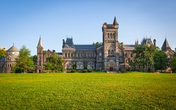 University of Toronto. The University of Toronto and the Front Campus Royalty Free Stock Photo