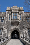 University of Toronto. Gothic Architecture royalty free stock image