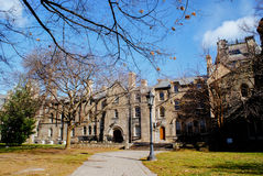 University of Toronto. The University of Toronto is a public research university in Toronto, Ontario, Canada on the grounds that surround Queen`s Park royalty free stock photography