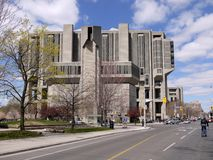 University of Toronto's Robarts library Royalty Free Stock Images