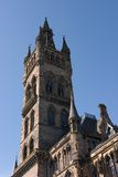 University Tower. The tower of Glasgow University, its best known landmark Stock Images