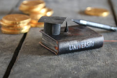 University tuition fees concept. Stock Photography