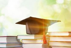 University. Degree master academy concept diploma graduation stock image