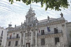 University of Valladolid Stock Images