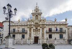 University in Valladolid Royalty Free Stock Images