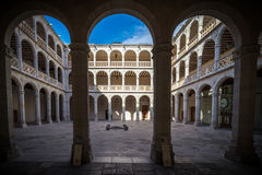 University Valladolid Royalty Free Stock Images