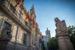 University of Valladolid Stock Photography