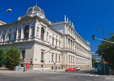 University. Vienna. Austria Stock Photography