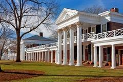 University of Virginia. Academical Village at the University of Virginia, Charlottesville Stock Photos