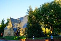 University of Virginia. Campus building in Charlottesville, VA, USA stock images