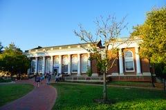University of Virginia. Campus building in Charlottesville, VA, USA stock photo