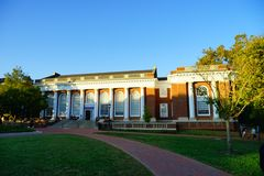 University of Virginia. Campus building in Charlottesville, VA, USA stock photography