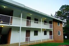 University of Virginia family housing. Building in Charlottesville, VA, USA stock image