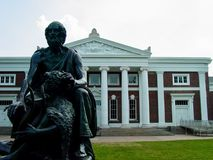University of Virginia royalty free stock photography