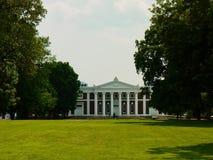 University of Virginia. Main quad, Charlottesville, Va Stock Images
