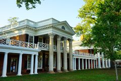 University of Virginia. Campus building in Charlottesville, VA, USA royalty free stock image